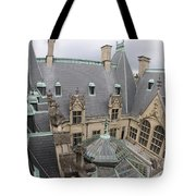 Roof Of Biltmore Estate Tote Bag