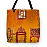 Room For Rumi's Sarcophagus In Konya-turkey  Tote Bag