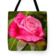 Rose Flower Tote Bag