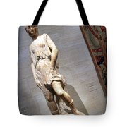 Rossellino's The David Of The Casa Martelli Tote Bag