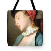 Rotari's A Sleeping Girl Tote Bag
