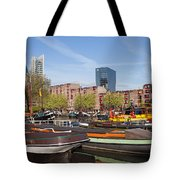 Rotterdam Cityscape In Netherlands Tote Bag