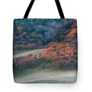 Round Valley Sunrise Tote Bag