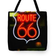 Route 66 Edited Tote Bag