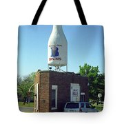 Route 66 - Giant Milk Bottle Tote Bag