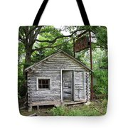 Route 66 - John's Modern Cabins Tote Bag