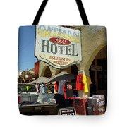 Route 66 - Oatman Arizona Tote Bag