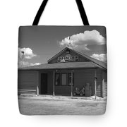 Route 66 - Old Log Cabin Tote Bag