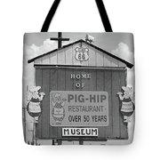 Route 66 - Pig-hip Restaurant Tote Bag