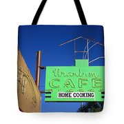 Route 66 - Uranium Cafe Tote Bag