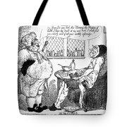 Rowlandson: Quack Doctor Tote Bag