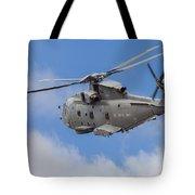 Royal Navy Eh-101 Merlin In Flight Tote Bag