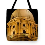 Royal Palace Dome In Budapest Tote Bag