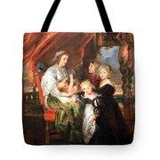 Rubens' Deborah Kip -- Wife Of Sir Balthasar Gerbier -- And Her Children Tote Bag