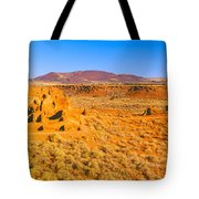 Ruins Of 900 Year Old Hopi Village Tote Bag