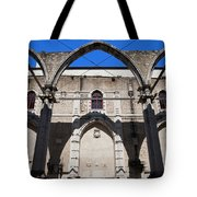 Ruins Of Carmo Convent In Lisbon Tote Bag