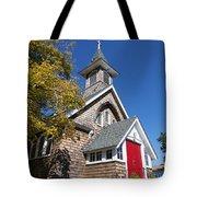 Rural Church Tote Bag