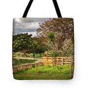 Rural Scene Tote Bag by Carlos Caetano
