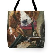 Rusty - A Hunting Dog Tote Bag