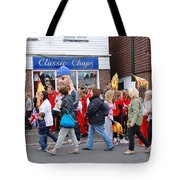 Rye Olympic Torch Relay Tote Bag