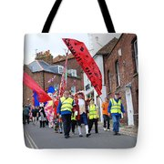 Rye Olympic Torch Relay Parade Tote Bag