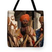 Sadus Holy Men Of India Tote Bag
