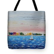 Sailing Takes Me Away Tote Bag