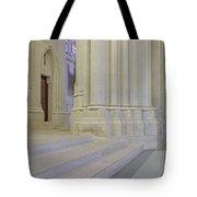Saint John The Divine Cathedral Columns Tote Bag