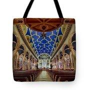 Saint Michael Church Tote Bag by Susan Candelario