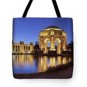 San Francisco Palace Of Fine Arts Theatre Tote Bag