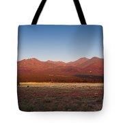 San Francisco Peaks Sunrise Tote Bag