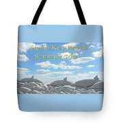 Sand Dolphins Tote Bag