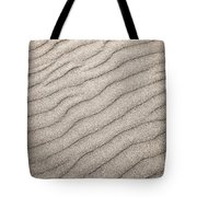 Sand Ripples Abstract Tote Bag