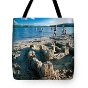 Sandcastle On The Beach Tote Bag