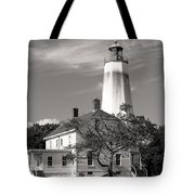 Sandy's Mark Bw Tote Bag