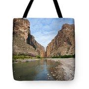 Santa Elena Canyon Tote Bag