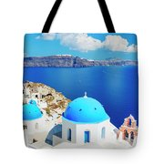 Santorini Island, Greece, Beautiful Tote Bag