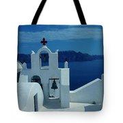 Santorini  Island Greece  Tote Bag