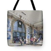 Sao Bento Railway Station Porto Portugal Tote Bag
