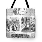 Saratoga Springs, 1859 Tote Bag