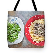 Sardines And Spaghetti Tote Bag