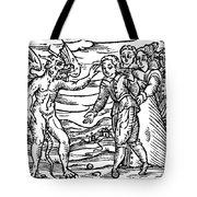 Satan & Sorcerer, 1626 Tote Bag