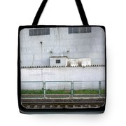 Scene From A Train In Chinas Southern Tote Bag