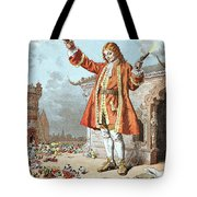 Scene From Gullivers Travels Tote Bag