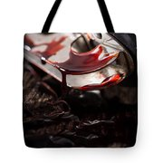 Scene Of The Crime Tote Bag by Edward Fielding