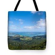 Scenic Coromandel Peninsula Nz Coastline Seascape Tote Bag