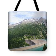 Schlegeis Dam And Reservoir  Tote Bag