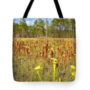 Schnell's Pitcher Plant Tote Bag