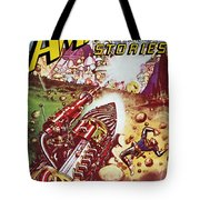 Sci-fi Magazine Cover 1941 Tote Bag