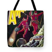 Science Fiction Cover 1929 Tote Bag